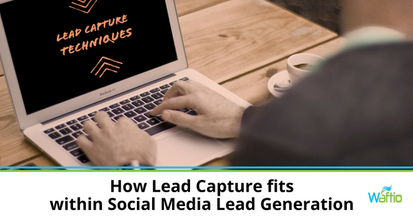 How Lead Capture fits within Social Media Lead Generation